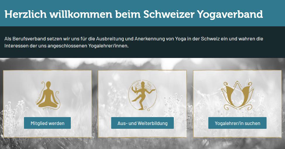 Herzlich Willkommen Beim Schweizer Yogaverband